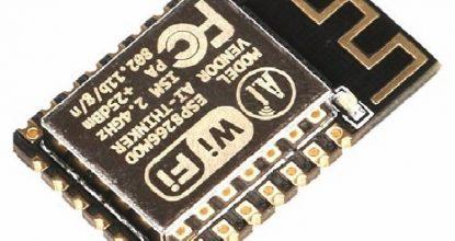 Модули на базе ESP8266