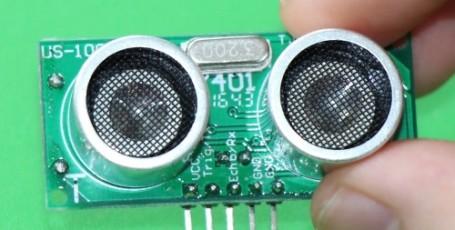 Использование ультразвукового модуля датчика расстояния US-100