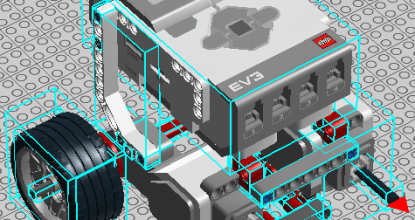 ИНЖЕНЕРНАЯ ГРАФИКА CAD (Computer-Aided Design — Система автоматизированного проектирования САПР) от LEGO — LEGO® Digital Designer.