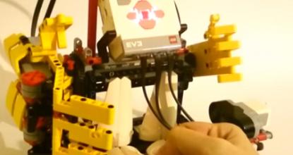 Модель робота RPS-GAM3 — «Камень, ножницы, бумага»