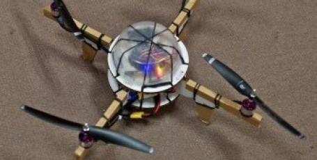 Cделай сам роботизированный картонный квадрокоптер