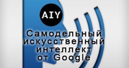Самодельный искусственный интеллект  от Google. Компьютерные слух и речь.  AIY Voice Kit