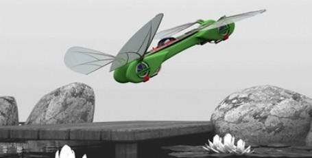 Робот-стрекоза. Идея для воплощения в реальность