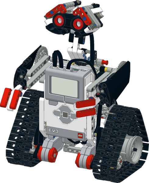 Робот Wall-e LEGO® Mindstorms® EV3 | Журнал научно-технического ...