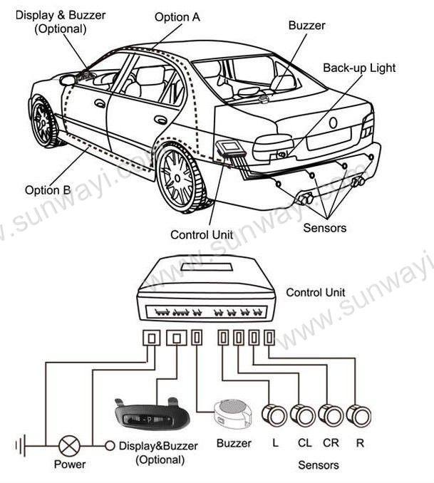 Good-OEM-LCD-Parking-Sensor-with-Cameras