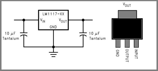 AMS1117 -3.3V